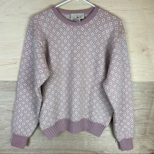 Vintage J. Crew 100% Wool Sweater